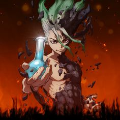 This HD wallpaper is about Anime, Dr. Stone, Senku Ishigami, Original wallpaper dimensions is file size is Anime Boys, Manga Anime, Anime Dvd, Glitch Wallpaper, Wallpaper Animes, Stone Wallpaper, 1080p Wallpaper, Background Images Wallpapers, Wallpaper Backgrounds