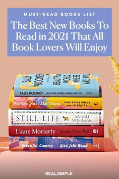 The Best New Books to Read in 2021 (So Far) | Our book editors share their annual best book lists for 2021, it features fiction, memoirs, thrillers, nonfiction, and more must-read books and novels with thought-provoking storylines and well-built characters. Add these books to your must-read list that any book lover should read. #realsimple #bookrecomendations #thingstodo #bookstoread Best Book Club Books, Good New Books, How To Read More, Learn To Read, Liane Moriarty, Page Turner, Thrillers, Real Simple, Any Book