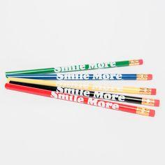 Smile More Pencils
