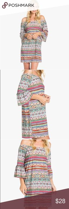 Spotted while shopping on Poshmark: Off The Shoulder Spring Dress! #poshmark #fashion #shopping #style #Dresses & Skirts