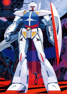 syd mead - Turn A gundam