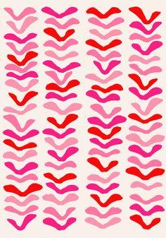 Fly Away_Pink - Art Print by Garima Dhawan/Society6