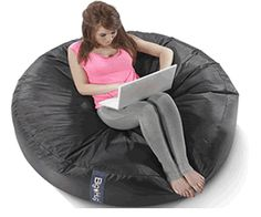 Big Hug bean bags are ideal for outdoor use being very hardwearing, dirt proof and water resistant, they are rather expensive though. Huge Bean Bag, Giant Bean Bags, Cool Bean Bags, Iphone Shop, Sit Back And Relax, Big Hugs, Sofa Covers, Outdoor Sofa, Bean Bag Chair