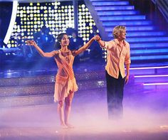 Charlie White and his Olympic gold medalist partner, Meryl Davis, danced together on 'Dancing With The Stars' for the first time during the season 18 finale on May 20, 2014.