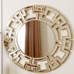 Found it at Joss & Main - Louise Round Oversized Wall Mirror