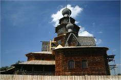 Суздаль. Деревянная церковь Николы из с. Глотова, , Суздаль, церковь,