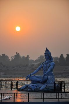 Sunset Over the Ganges, Rishikesh, India