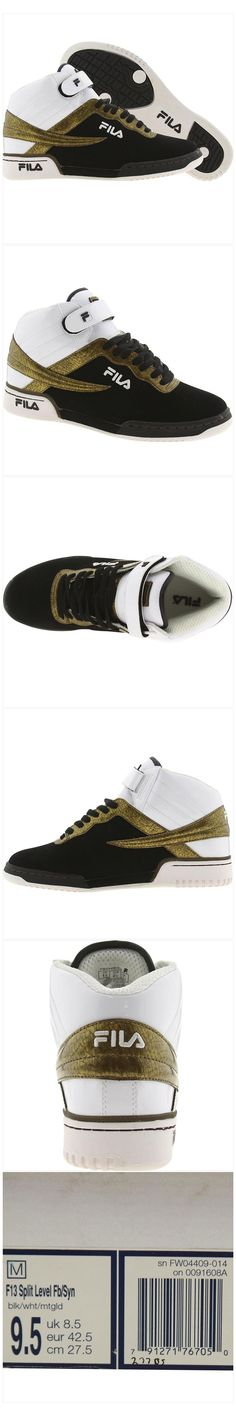 Fila F-13 Split Level (black   white   metallic gold) Fila Outfit 4e65ba72a66