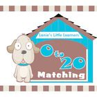 0 to 20 Matching: Help the dog find its home by matching the dog's number to the dots on the doghouse. The math activity is perfect for remediatio...