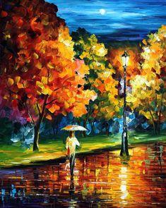 MOONY NIGHT  - PALETTE KNIFE Oil Painting On Canvas By Leonid Afremov http://afremov.com/WINTER-ALLEY-PALETTE-KNIFE-Oil-Painting-On-Canvas-By-Leonid-Afremov-Size-30-X24-SKU19140.html?bid=1&partner=20921&utm_medium=/vpin&utm_campaign=v-ADD-YOUR&utm_source=s-vpin