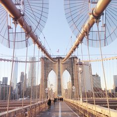 NEW YORK TRAVEL DIARY - PART 1 - Brooklyn Bridge