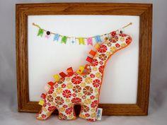 Stuffed Dinosaur Plush Baby Toy