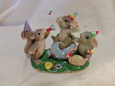 Charming Tails PARTY ANIMALS Figurine 89/101 DEAN GRIFF(88)   eBay