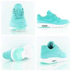 sports shoes e05ee 10eca ... BLACK WOLF GREY 819476 101  Nike Wmns Air Max 1 Ultra Moire turqoise
