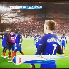 Goaaaaal!! #FRA 2 - 0 #GER  #FRAGER #GERFRA #Euro2016