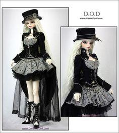 Dream of Doll Steampunk Dolls, Mode Steampunk, Gothic Dolls, Anime Dolls, Ooak Dolls, Carnival Dress, Dream Doll, Chucky, Custom Dolls