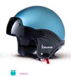 Vespa helmet                                                                                                                                                                                 More