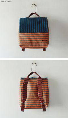 Vuelven las mochilas, no me extraña, como sean todas como ésta de Marimekko.