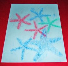 Learning Ideas - Grades K-8: Starfish Craft Activity