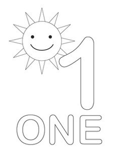 Number Coloring Pages---Learning to count numbers? Coloring the numbers is one fun way to do it. These free number coloring pages have engaging pictures for each number that children can count and color at the same time. Numbers Preschool, Learning Numbers, Preschool Printables, Preschool Classroom, Preschool Worksheets, Learning Tools, Preschool Learning, Kindergarten Math, Math Activities