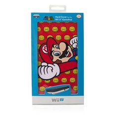 "Super Mario Gamepad Faceplate for Wii U (Red) - Performance Designed Products - Toys ""R"" Us"