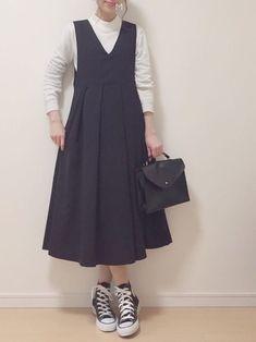 Korean Fashion – How to Dress up Korean Style – Designer Fashion Tips Modest Outfits, Modest Fashion, Hijab Fashion, Dress Outfits, Cool Outfits, Girl Fashion, Casual Outfits, Fashion Dresses, Fashion Design