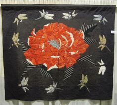 """Zen"" by Yoshiko Katagiri, Japan, PIQF 2012 ""Life"" exhibit. Photo by Quilt Inspiration"
