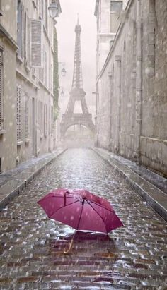 Beautiful Paris ~ in the Rain