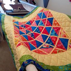 Aztec Colors Dream Quilt