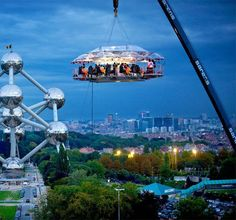 Brussels- dinner in the sky