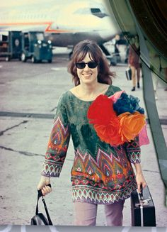 psychedelicway: Grace Slick by John Williams - 1968