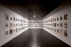 Hans Peter Feldmann, 9/12 Frontpage, 2001, installation view in the Centre of Contemporary Art Znaki Czasu, courtesy of the Sandretto Re Rebaudengo Collection, Torino. Photo: Wojciech Olech
