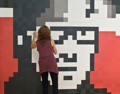 """Check out this @Behance project: """"Pixels XL I 10x10 cm pieces"""" https://www.behance.net/gallery/11990975/Pixels-XL-I-10x10-cm-pieces"""