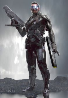 ArtStation - Deadpool 2 : Early Cable Concept., Aaron McBride