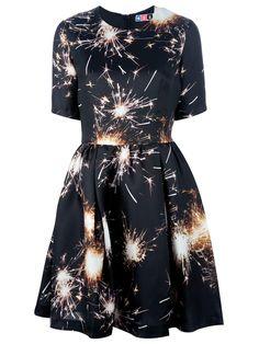fireworks printed dress, LOVE this!