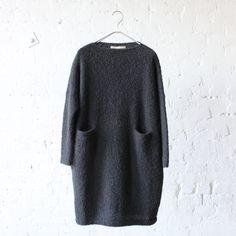 Lauren Manoogian Trapezoid Dress Soft Black