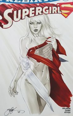 supergirl naked by ebas