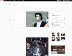 """yeoli: """" Theme 32 - All in one theme Features: • 400px / 500px posts • show notes on index page • like / reblog buttons • optional show captions • header image ( min-height: 100px ) • customisable..."""