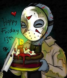 Happy Friday the 13th! Did you know that the fear of Friday the 13th has been called friggatriskaidekaphobia? Repin and like! :-)