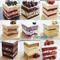 VK is the largest European social network with more than 100 million active users. Fancy Desserts, Sweet Desserts, Sweet Recipes, Delicious Desserts, Dessert Recipes, Mini Cakes, Cupcake Cakes, Cupcakes, Russian Cakes