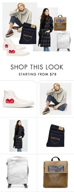 """Off to Madrid"" by design360 ❤ liked on Polyvore featuring Play Comme des Garçons, Peace Love World, Vince, Abercrombie & Fitch, CalPak, Maison Margiela and Hoodies"
