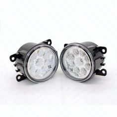 26.53$  Watch more here - http://ai0k2.worlditems.win/all/product.php?id=32797041187 - 2pcs Car Styling Round Front Bumper LED Fog Lights DRL Daytime Running Driving fog lamps For Renault Kangoo SALOON 2007-2009