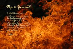 Why Don't We See Tongues of Fire Today?   NBC Mosaic Church