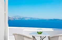 Overlooking the beautiful Aegean Sea from your very own balcony at Canaves Oia, Luxury Resorts and Villas, Santorini…. Would you ask for more?