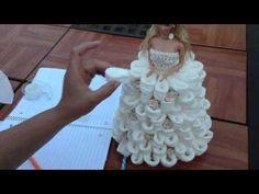 Barbie Recuerdo Para Quinceñera usando papel higenico - YouTube