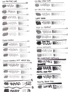 You gotta love all these pens Ed Rivis sampled in Improve Your Ink Drawing with Hatching Techniques! http://skl.sh/2aHIvmN