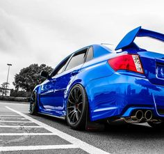Subaru WRX STi, one of 2 cars competing with the Audi S4 as a daily driver.