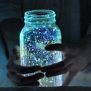 Home-Dzine - Childrens arts and crafts for kids of all ages DIY Arts And Crafts Projects, Crafts To Do, Projects For Kids, Diy For Kids, Crafts For Kids, Glow Stick Jars, Glow Jars, Glow Sticks, Popsicle Sticks