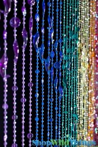 Wide x Long: Our wonderful heavy-duty acrylic beaded curtains are a perfect addition to any room! Use in the place of regular doors, closet doors, or behind a bed to add height to any room! Meditation Room Decor, Meditation Cushion, Drapes And Blinds, Drapes Curtains, Door Beads, Best Of Intentions, Backyard Trampoline, Hanging Beds, Mawa Design