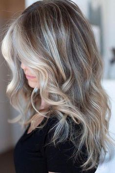 Mushroom Blonde Hair Is Everything You Need This Winter—Here Are 15 Gorgeous Examples to Show Your Stylist - balayage hair blonde - Blond Ombre, Balayage Hair Blonde, Ombre Hair Color, Brown Hair Colors, Ombre Hair For Blondes, Ash Ombre Hair, Ash Blonde Hair Balayage, Reverse Balayage, Gray Hair